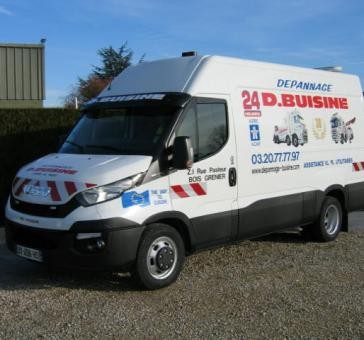 IVECO DAILY - Garage BUISINE Lille