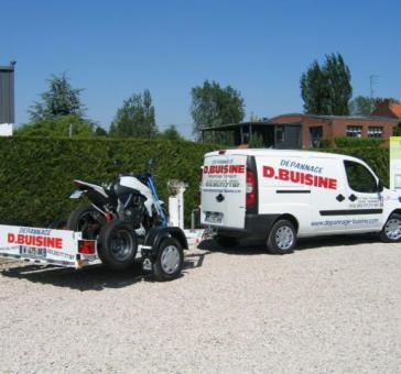 FIAT DOBLO+REMORQUE MOTO - Garage BUISINE Lille