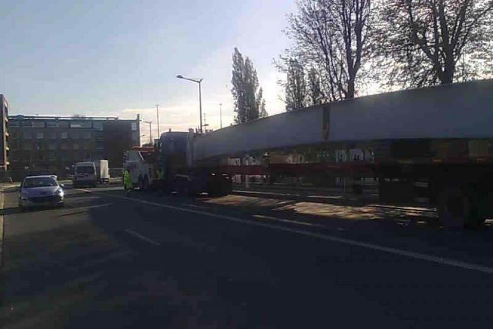 Convoi exeptionnel 2 - Garage BUISINE Lille